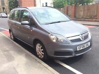Vauxhall Zafira Club 2006 1.6 Petrol Manual 7 Seater Grey