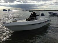 Selva, Centre Console Boat, Like Boston Whaler, 70Hp, Rolling trailer and extras