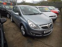 vauxhall corsa 1.4 sxi (ac) 5dr 2008 model, 54,000 genuine miles,full mot and warranty on purchase
