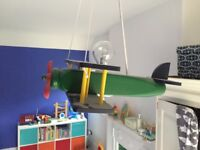 Children 'Aeroplane' Ceiling Light