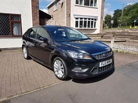 Ford Focus 2010 1.6 tdci Zetec S BLACK £4000 ONO!!!!