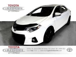 2015 Toyota Corolla S+MAGS+ +TOIT OUVRANT+CAMÉRA+ SI&Egra