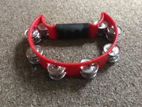 red tambourine virtually unused