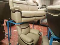 3 seater + 1 arm chair sofa leather sofa can deliver