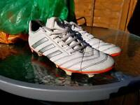 Adidas football boots, mens size 10.5