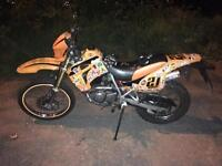 Spares/repairs Hyosung RX125 for Swaps 125cc 125 Supermoto Crosser 4stroke