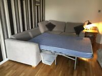 Grey Corner Sofa Bed