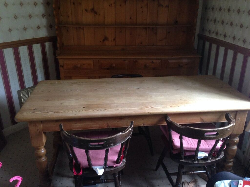 solid pine table in hull east yorkshire gumtree