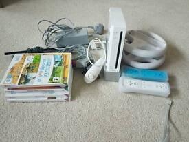Wii + games +accessories