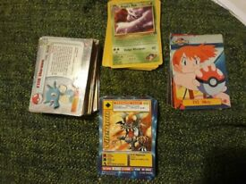 80+ Collectable Pokemon and Digimon Cards