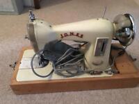 Jones Sewing Machine vintage prop wedding