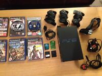 PS2 + games (Sony play station 2 full set)