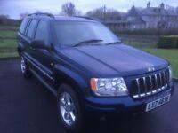 2005 Grand Cherokee 2.7 CRD Diesel