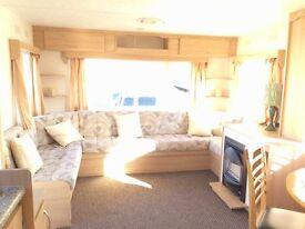 cheap static caravan for sale north east coast, beautiful sea views , pet friendly park crimdon dene