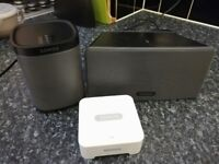 Sonos Play 1, Play 3 and Bridge used in good condition