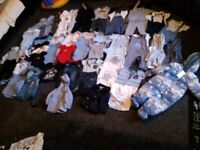 Baby boy huge clothes bundle some new & tags6-9&9-12&12-18mths collect ml5