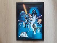 """Star Wars Giant 20"""" x 27"""" Framed 3D Poster"""