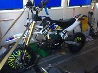 2017 m2r road legal 125cc pitbike