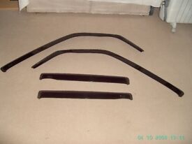 Wind Deflectors to fit Mitsubishi - Shogun