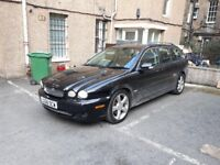 2008 Jaguar xtype estate, mot sept top spec