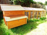 Hen house with large run and netting for sale, over £400 worth of kit
