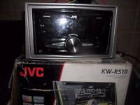 jvc r5-10 cd player fit most cars comes with full kit to fit in to a mk5 astra kenwood pioneer