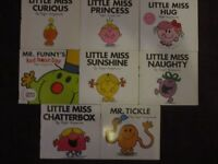 Set of Mr Men and Little Miss books