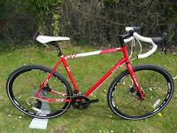 Brand New Raleigh Maverick Comp Reynolds 631 Steel Cyclocross Gravel Bike Hydraulic Brakes