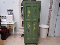 Antique rustic Oak wardrobe