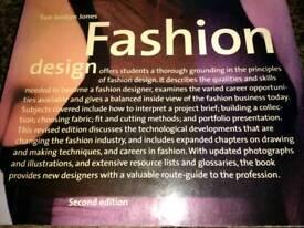 Dressmaking and fashion design books
