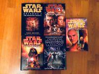 Star Wars Books Novels Collectibles Rare Hard Back Job Lot