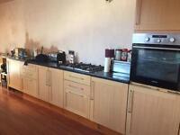 Modern Oak Style Kitchen Units