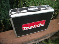 Makita Flight Case for 18v Drill charger and batteries or any Tools!