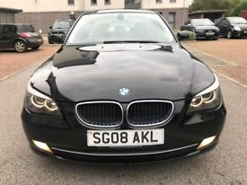 ***FINANCE AVAILABLE*** 2008 BMW 520 DIESEL-MANUAL, MOT JULY 2018, FULLY SERVICED