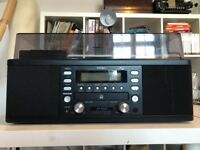 Teac LPR500 All-In-One CD/Turntable/Cassette/Tuner Hifi System/record player