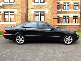 Mercedes-Benz S Class S320 Auto , X Deplomatic Special Eddition With Double Glazing Brown Windows .