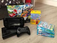 Nintendo Wii U Console plus games