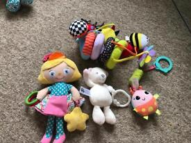 Baby's Pushchair Toys.