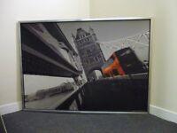 LONDON BUS PRINT - ON TOWER BRIDGE £20