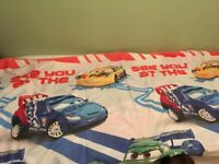 Boys double bed duvet cover and pillowcase's