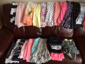 Girls Summer Clothes Bundle Age 7-8