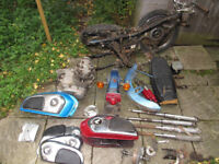 Honda CD175 CD 175 parts