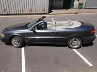 Volvo C70 turbo cabriolet, soft top