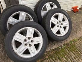 Alloys 17` for Renault with Excellent Falken Tyres 225/55/R17 set of 4