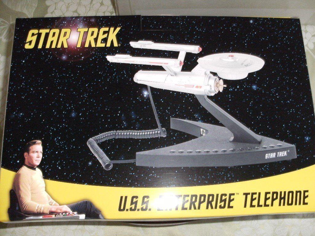 STAR TREK USS ENTERPISE TELEPHONE (Brand New & Boxed)
