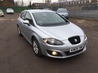 "SEAT LEON ""REDUCED £2795"" 2009 GREY DIESEL 1.9 LITRE MINT CONDITION"