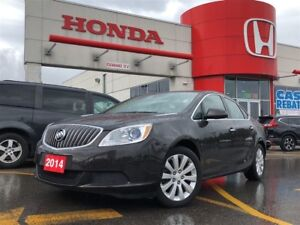 2014 Buick Verano Base, bluetooth, leather and woodtrim interior