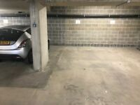 Underground Parking near Clapham Junction with fob-activated security gate