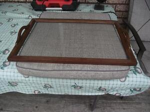 GLASS SERVING TRAY FOR ANTIQUE TEA WAGON Peterborough Peterborough Area image 1