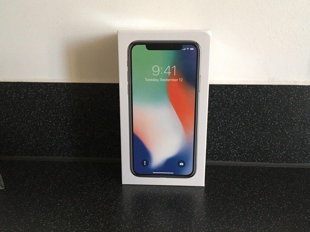 APPLE iPHONE X 256GB FACTORY UNLOCKED✅